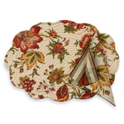 Sydney Quilted Placemat And Napkin Bed Bath Amp Beyond