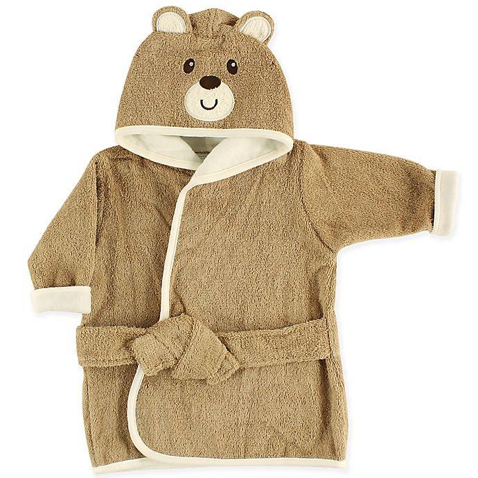 Alternate image 1 for Luvable Friends Bear Baby Bathrobe