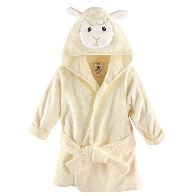 Alternate image 1 for Luvable Friends® Lamb Animal Bathrobe