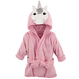 Hudson Baby® Unicorn Bathrobe in Pink/White