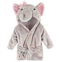 BabyVision® Hudson Baby® Pink Elephant Animal Bathrobe
