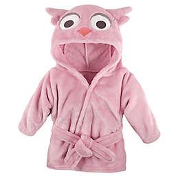 Hudson Baby® Owl Bathrobe in Pink