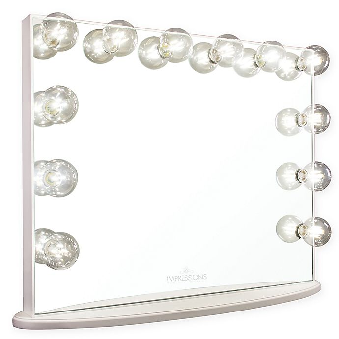 Impressions Hollywood Glow Vanity Mirrors Bed Bath Beyond