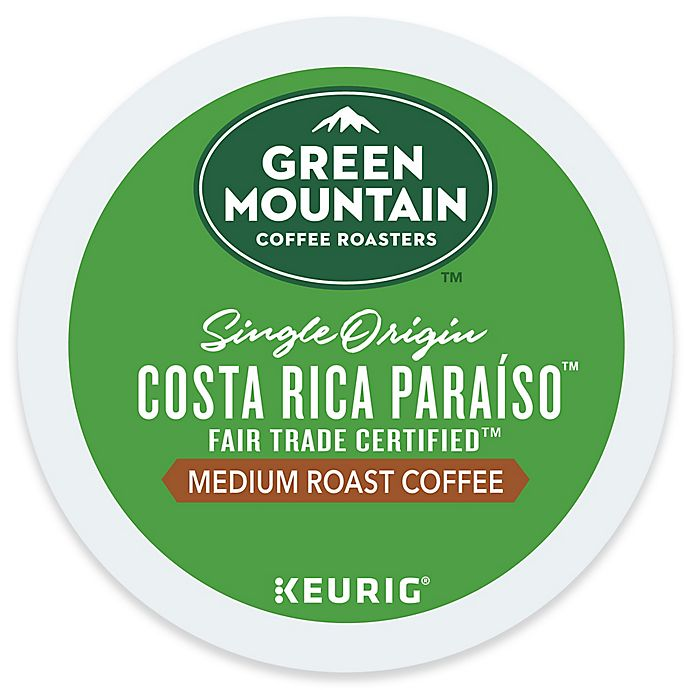 Alternate image 1 for Keurig® K-Cup® Pack 18-Count Green Mountain Costa Rica Páraíso Coffee