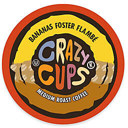 Crazy Cups® Bananas Foster Flambe Coffee Pods for Single Serve Coffee Makers 22-Count