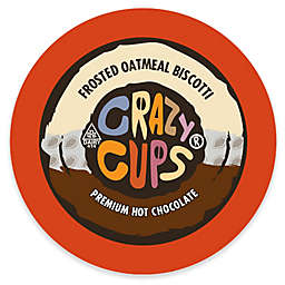 22-Count Crazy Cups® Frosted Oatmeal Biscotti Hot Chocolate