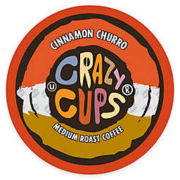Crazy Cups® Cinnamon Churro Medium Roast Coffee Pods for Single Serve Coffee Makers 22-Count