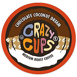 Crazy Cups® Chocolate Coconut Dream Coffee Pods for Single Serve Coffee Makers 22-Count