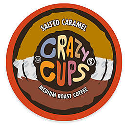 Crazy Cups® Salted Caramel Flavored Coffee Pods for Single Serve Coffee Makers 22-Count