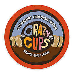 Crazy Cups® Peppermint Chocolate Mocha Coffee Pods for Single Serve Coffee Makers 22-Count