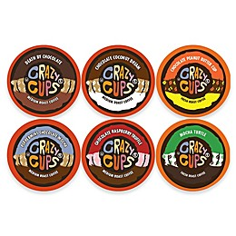 Crazy Cups® Chocolate Lovers Coffee Pods for Single Serve Coffee Makers 24-Count