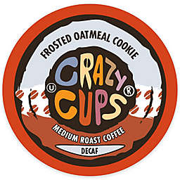 Crazy Cups® Decaf Frosted Oatmeal Cookie Coffee Pods for Single Serve Coffee Makers 22-Count