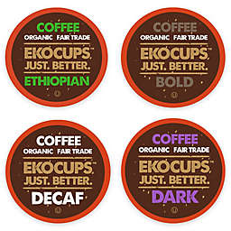 EkoCups™ Organic Coffee 40-Count Collection