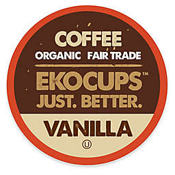 40-Count EkoCups™ Organic Vanilla Flavored Coffee