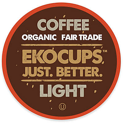 40-Count EkoCups™ Organic Light Gourmet Coffee