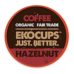 40-Count EkoCups™ Artisan Organic Hazelnut Flavored Coffee