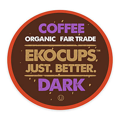 40-Count EkoCups™ Artisan Organic Dark Roast Coffee