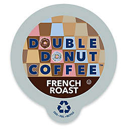 Double Donut Coffee™ French Roast Coffee Pods for Single Serve Coffee Makers 24-Count