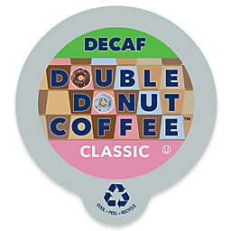 Double Donut Coffee™ Decaf Classic Coffee Pods for Single Serve Coffee Makers 24-Count