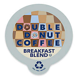 Double Donut Coffee™ Breakfast Blend Coffee Pods for Single Serve Coffee Makers 24-Count