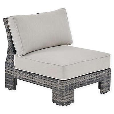 Madison Park Scarlett Outdoor Lounge Chair in Dark Grey/Grey
