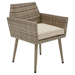 INK+IVY Avery Outdoor Armchair in Light Grey (Set of 2)