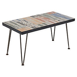 INK+IVY  Austin Outdoor Coffee Table in Dark Bronze