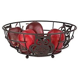 Home Basics® Owl Fruit Bowl in Bronze