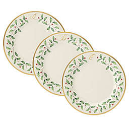 Lenox® Holiday™ Monogram Dinner Plate