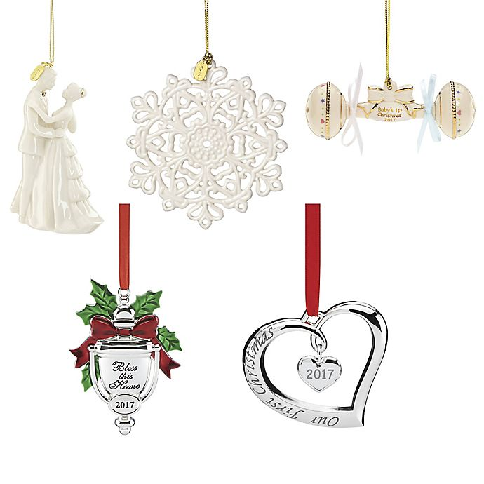 Lenox® Annual Christmas Ornament Collection - Lenox® Annual Christmas Ornament Collection Bed Bath & Beyond