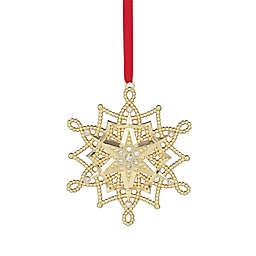 Lenox® 2017 Golden Snowflake Christmas Ornament