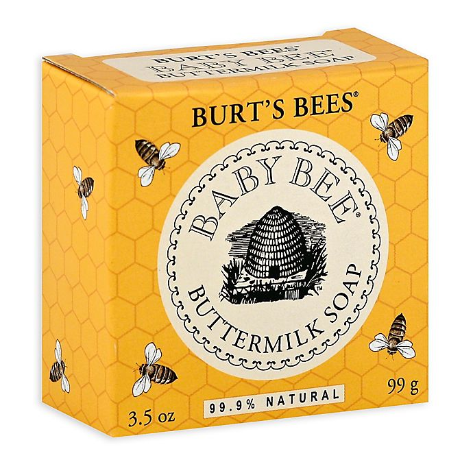 Alternate image 1 for Burt's Bees® Baby Bee® 3.5 oz. Buttermilk Soap