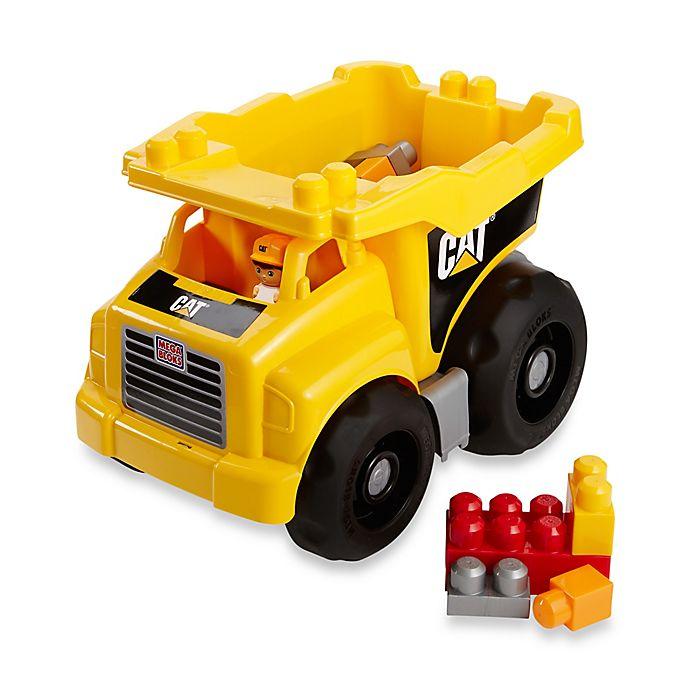 Alternate image 1 for CAT Dump Truck by Mega Bloks