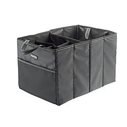 High Road® Compact Accordion Trunk Organizer in Black