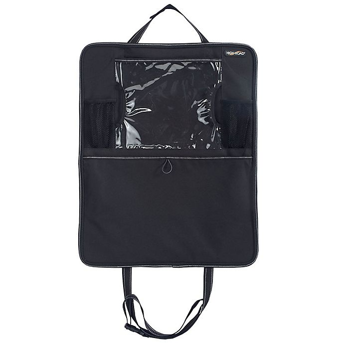 Alternate image 1 for High Road® TabletPockets™ Tablet Holder and Car Seat Protector in Black