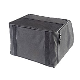 High Road® TrashStand™ Weighted Car Trash Can in Black