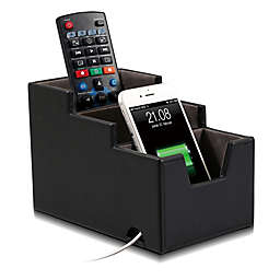 Remote Control Storage Organizer in Black