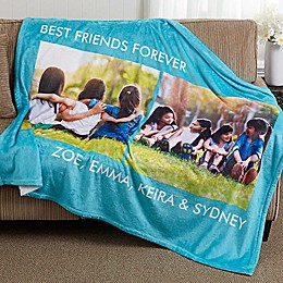 Picture Perfect 50-Inch x 60-Inch  Fleece 2 Photo Blanket