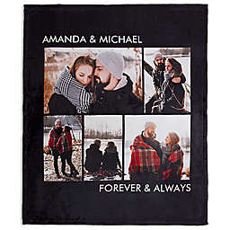 Picture Perfect Fleece 5-Photo Blanket