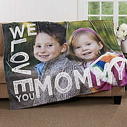 Loving Her 50-Inch x 60-Inch  Fleece Photo Blanket