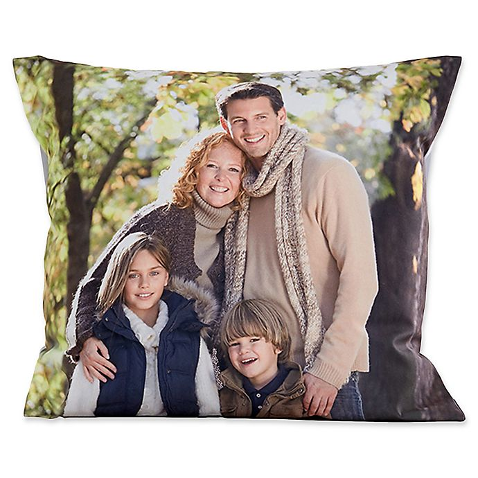 Alternate image 1 for Photo Memories 18-Inch Throw Pillow