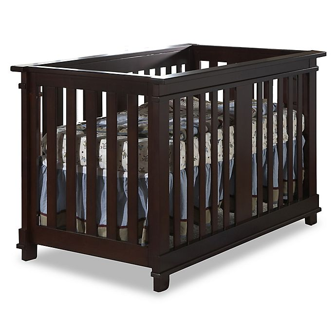 Alternate image 1 for Pali™ Lucca 4-in-1 Convertible Crib in Mocha