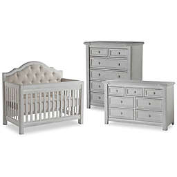 Pali Cristallo Nursery Furniture Collection In Vintage White