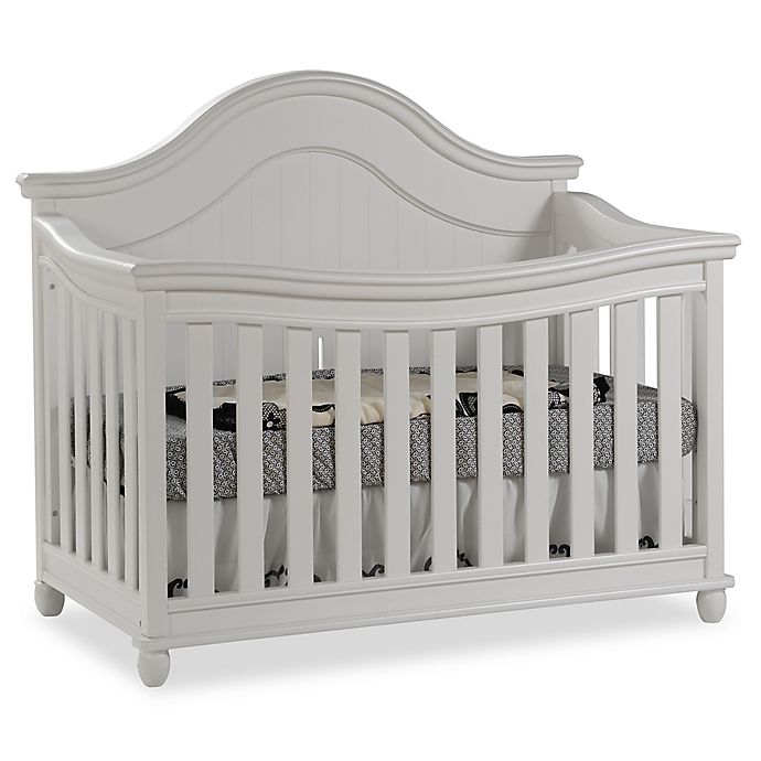 Alternate image 1 for Pali™ Marina 4-in-1 Convertible Crib in White