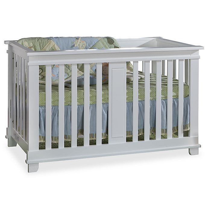 Alternate image 1 for Pali™ Lucca 4-in-1 Convertible Crib in White