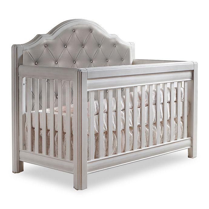Alternate image 1 for Pali™ Cristallo Royal 4-in-1 Convertible Crib in Vintage White