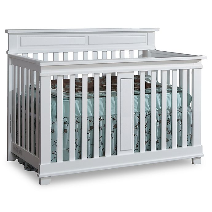 Alternate image 1 for Pali™ Torino Forever 4-in-1 Convertible Crib in White