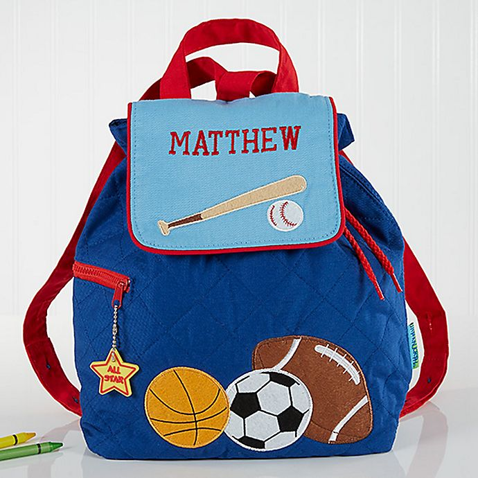 Alternate image 1 for All Star Sports Embroidered Kids Backpack