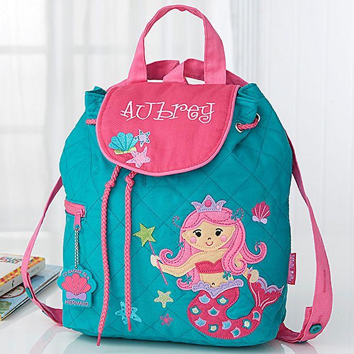 Alternate image 1 for Mermaid Embroidered Kids Backpack