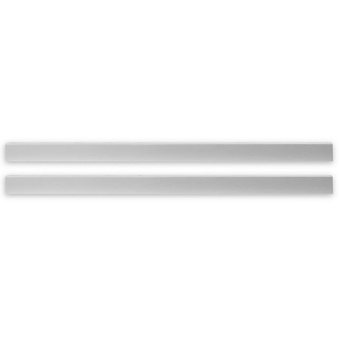 Alternate image 1 for Pali™ Universal Full-Size Bed Rails in Vintage White (Set of 2)